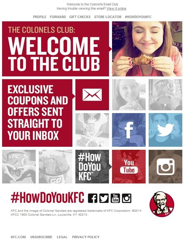 KFC-Welcome