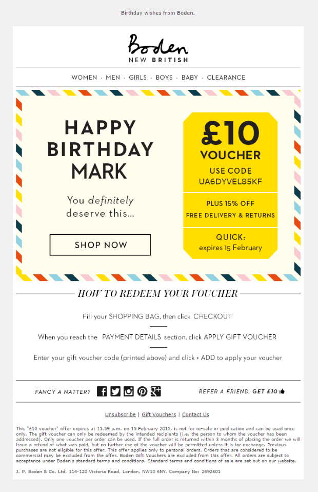 Can you save on fashion with Boden Voucher Codes?