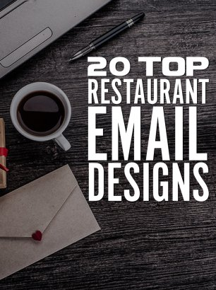20 Top Restaurant Email Designs